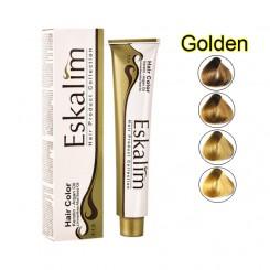 رنگ موی اسکالیم سری رنگ های طلایی (Golden)