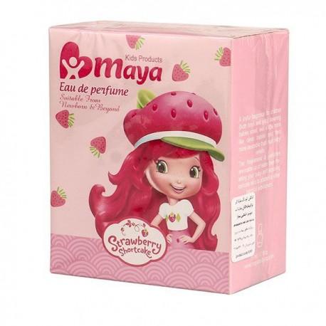 ادکلن کودک دخترانه مایا مدل Strawberry حجم 50میل