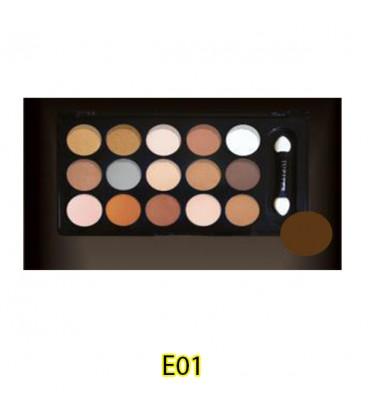پالت سایه چشم ژوپیتر 15 رنگ
